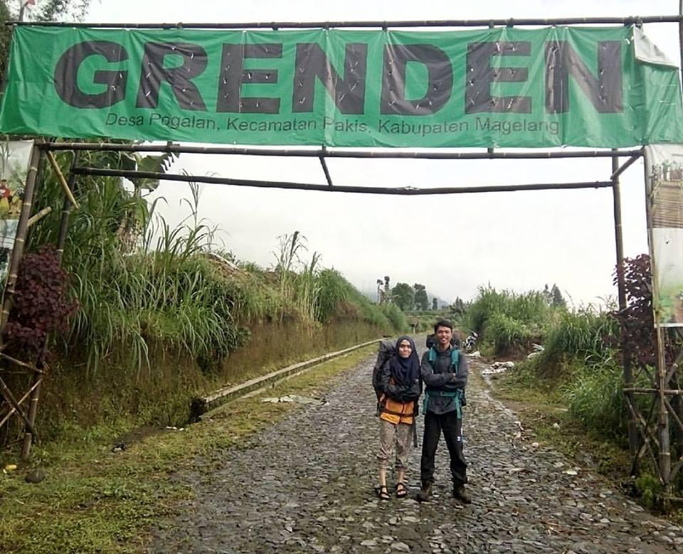 Pendakian Gunung Merbabu Grenden Volcanote Indonesia Gapura Jembatan Hati Kab