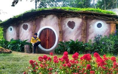 Tiket Masuk 10 Rumah Hobbit Bandungan Semarang Magelang 1 Jembatan