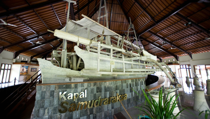 Direktori Pengetahuan Magelang Online Wisata Museum Kapal Samudraraksa Bumiputera 1912