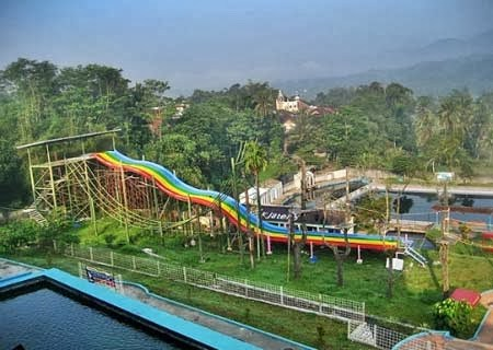 Tempat Wisata Magelang Kota Kabupaten Terbaik Taman Rekreasi Air Kalibening