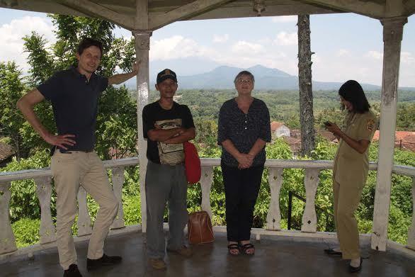 Erika Baud Kunjungi Museum Diponegoro Magelang Kab