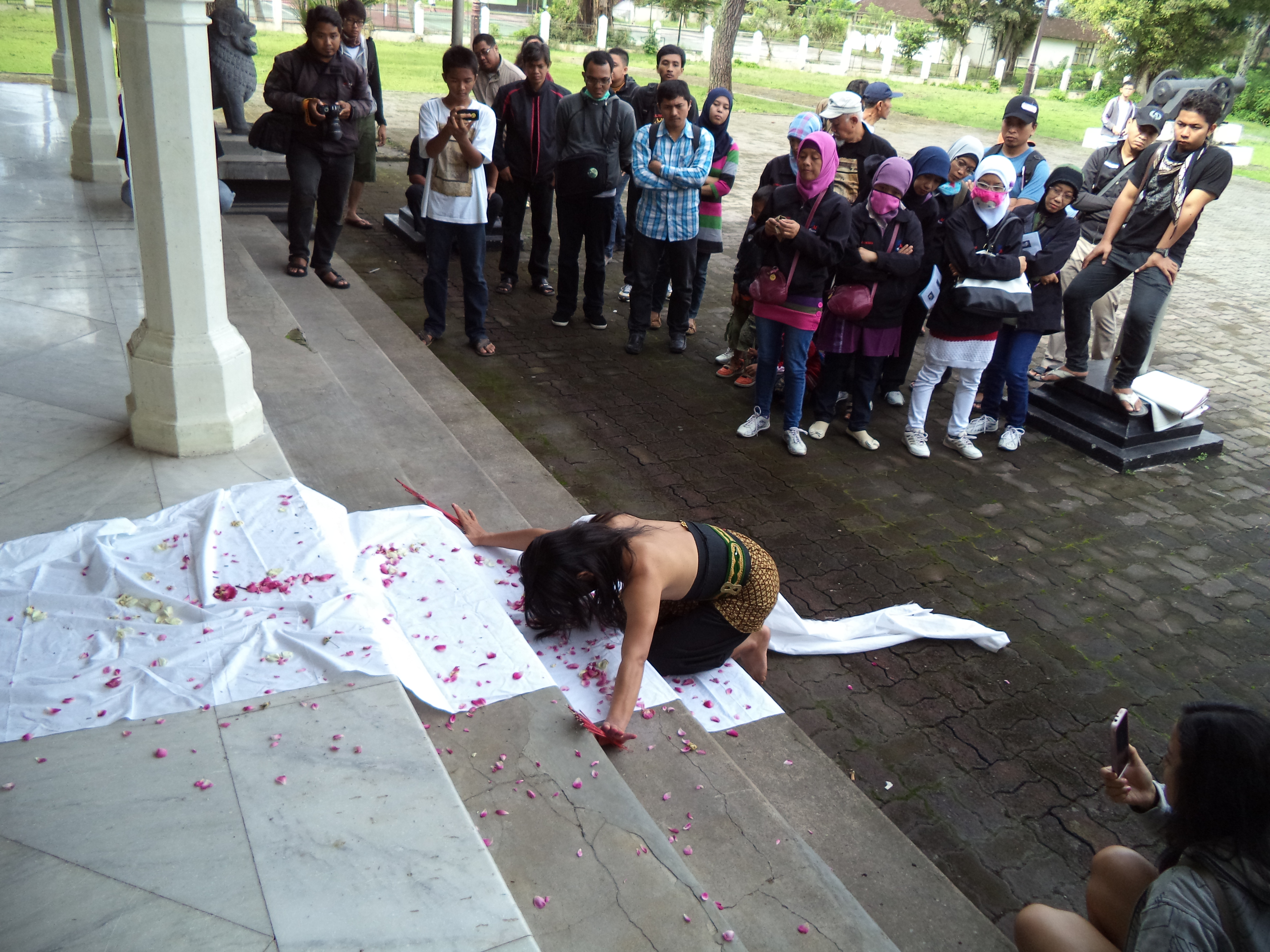 Menyusuri Petilasan Pangeran Diponegoro Widoyoko Magelang Ruangan Perundingan Antara Letnan