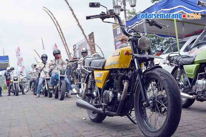 Ratusan Bikers Merzy Serbu Magelang Museum Diponegoro Kab