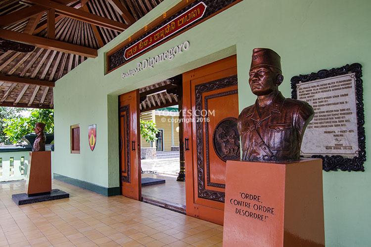 Sasana Wiratama Mengenang Perjuangan Pangeran Diponegoro Museum Kab Magelang