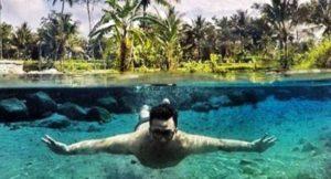5 Spot Underwater Magelang Sebening Tatapan Pevita Ngetripyuk Jadi Kamu