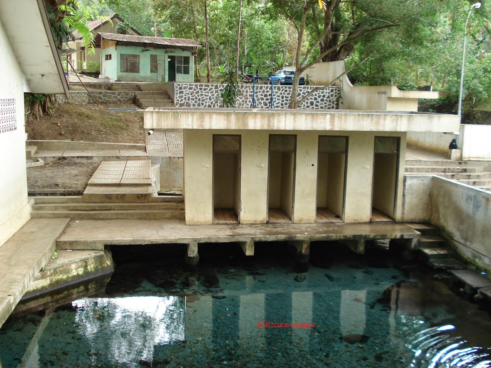 Gending Dusun Ganjuran River Springs Tirta Raya Ce Tek Tempat