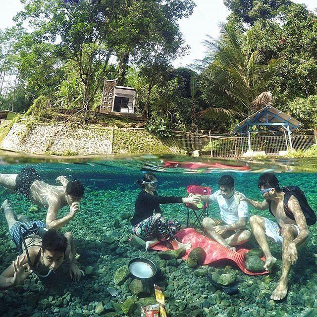 Limakaki Lima Lokasi Wisata Water Spot Magelang Sendang Mudal Sebuah