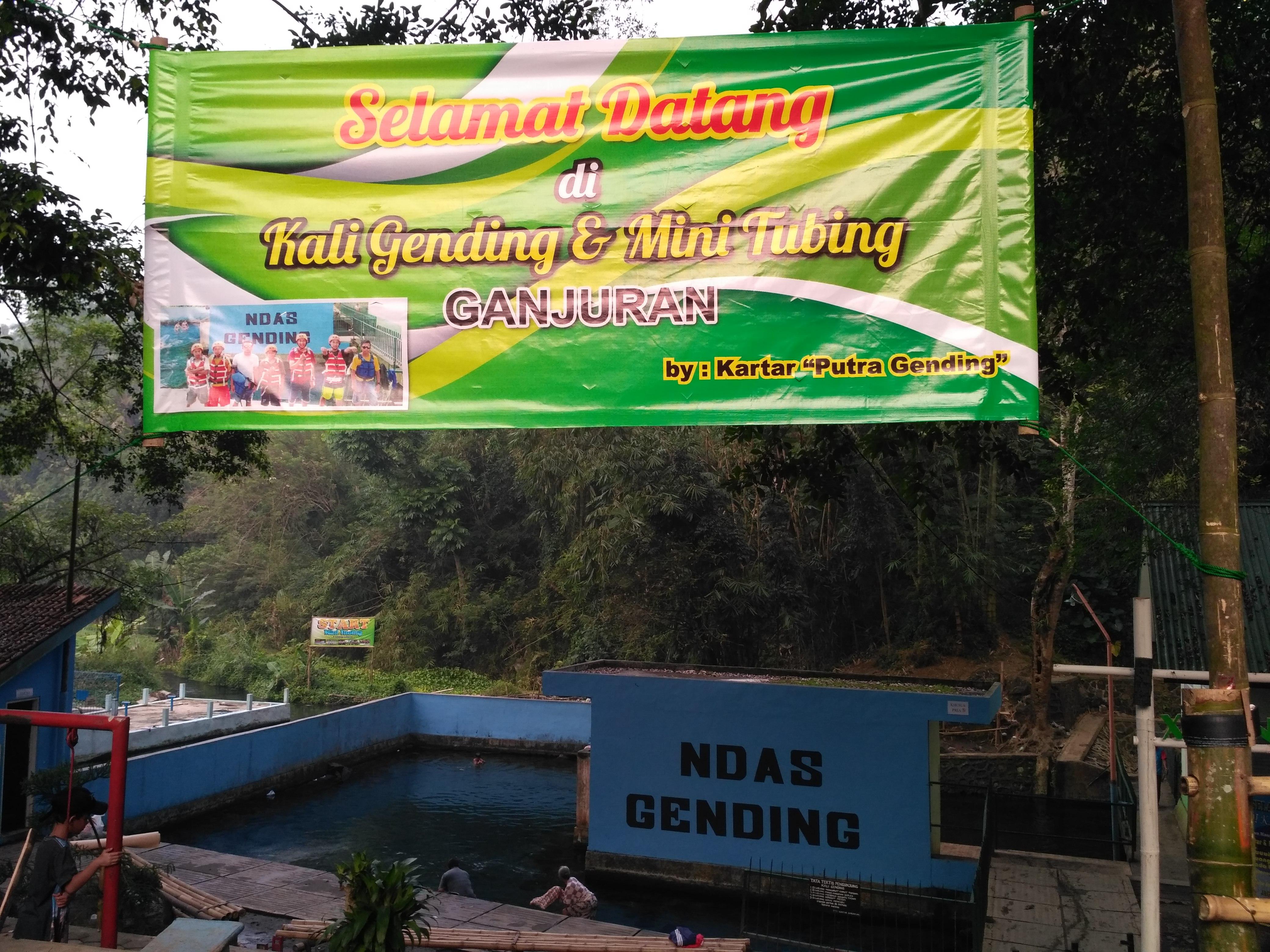 Mini Tubing Umbul Gending Nananging Jagad Ndas Kab Magelang