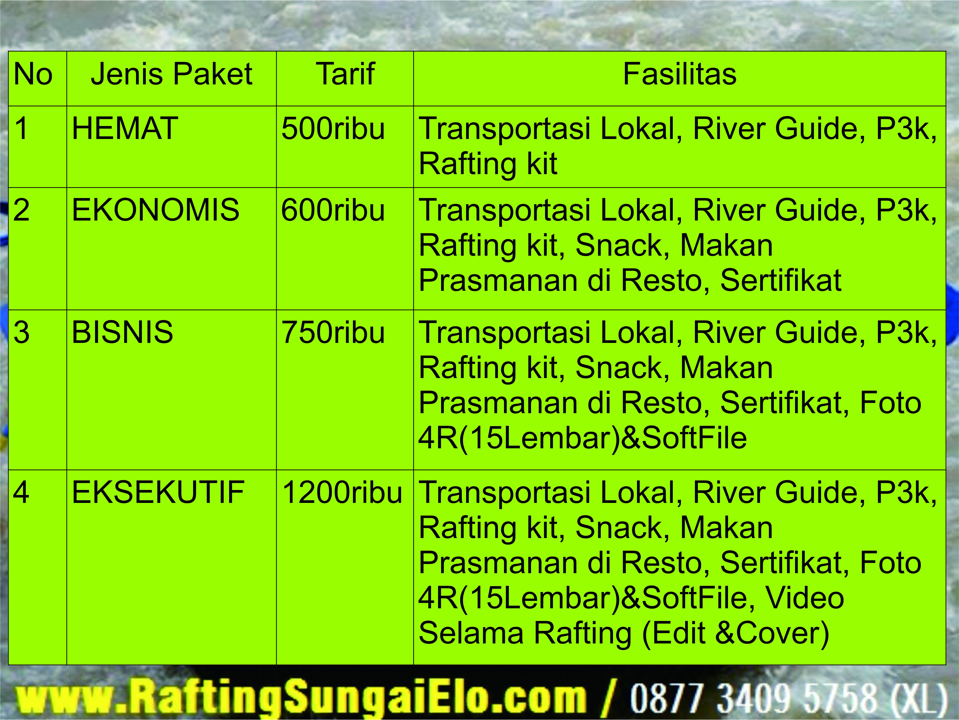 Arung Jeram Magelang Rafting Sungai Elo Games Outbond Ello Kab