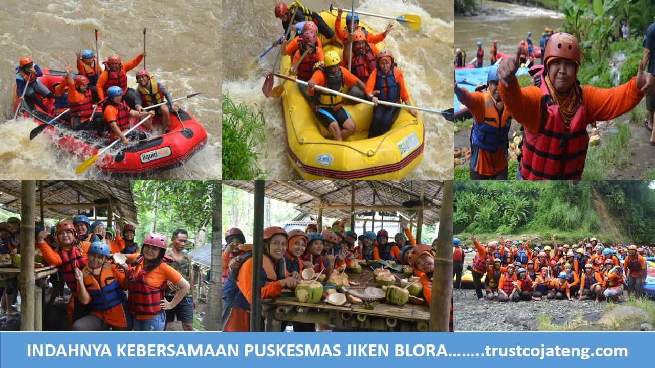Arung Jeram Sungai Elo Kab Magelang 12 Km Inspiring Outbound