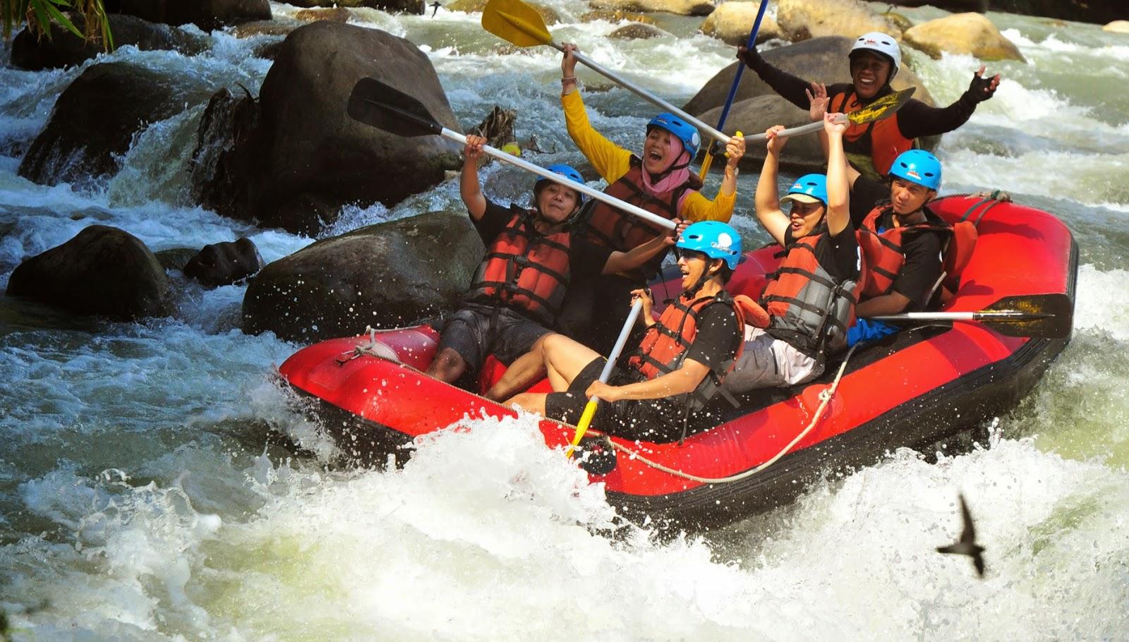Arung Jeram Sungai Elo Magelang Eo Rafting Ello Kab