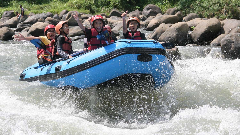 Arung Jeram Sungai Elo Progo Rafting Ello Kab Magelang