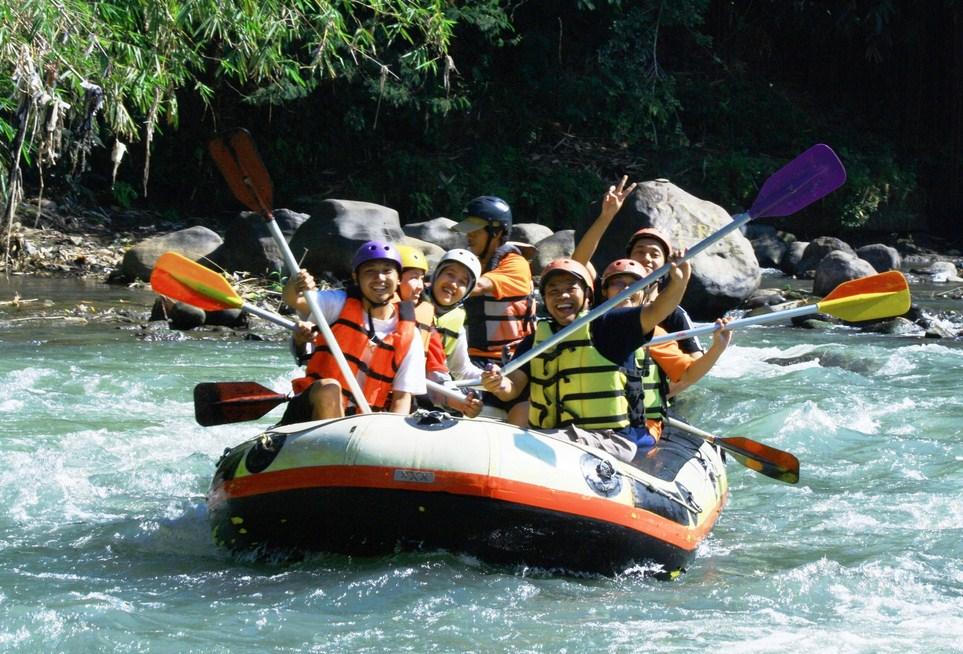 Elo River Rafting Arung Jeram Sungai Yogyakarta Jogja River9 Ello
