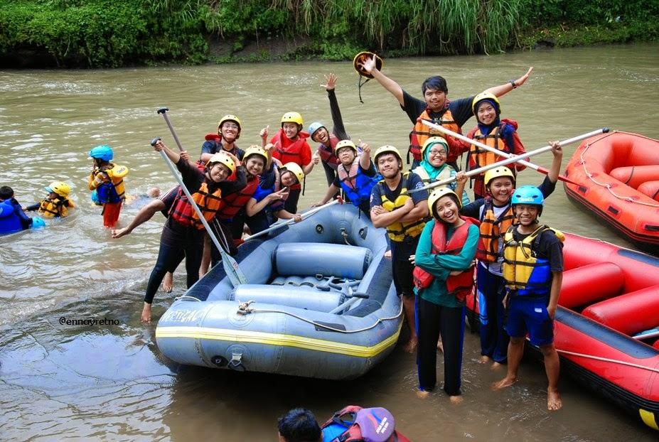 Ennay Journey Rafting Sungai Elo Magelang Salah Satu Ideal Berwisata