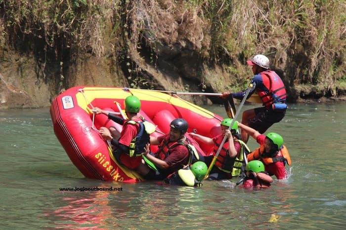 Jual Biaya Rafting Sungai Elo Magelang Ello Kab
