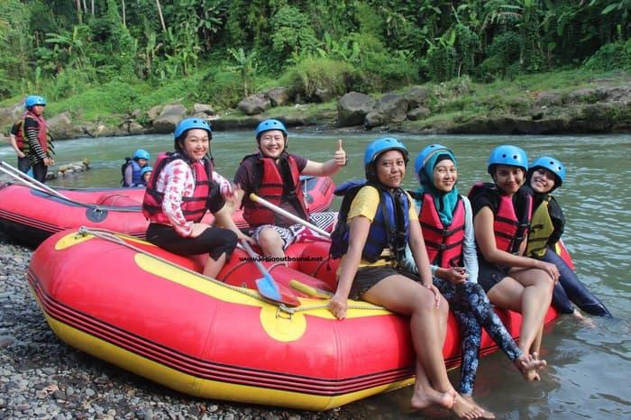 Jual Lokasi Rafting Elo Magelang Murah Sungai Ello Kab