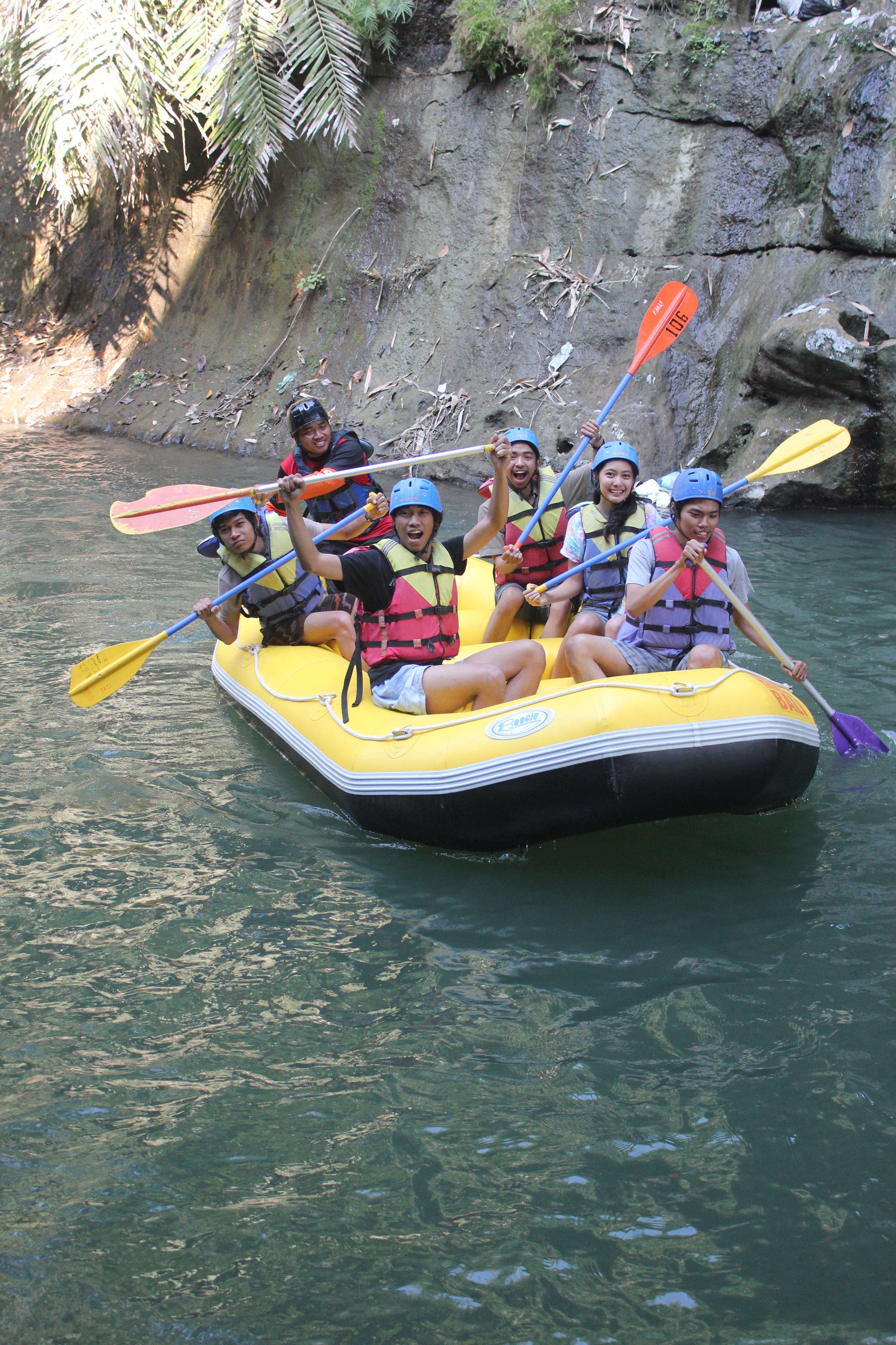 Paket Rafting Sungai Elo Arung Jeram River Bersiap Meluncur Mrgreen