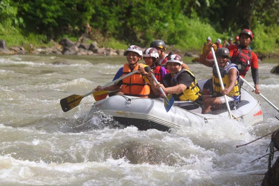 Paket Rafting Sungai Elo Magelang Ello Kab