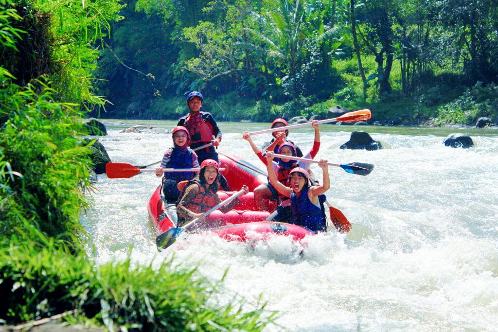Rafting Sungai Elo Dolan Magelang Membawa Adrenalin Naik Turun Cocok