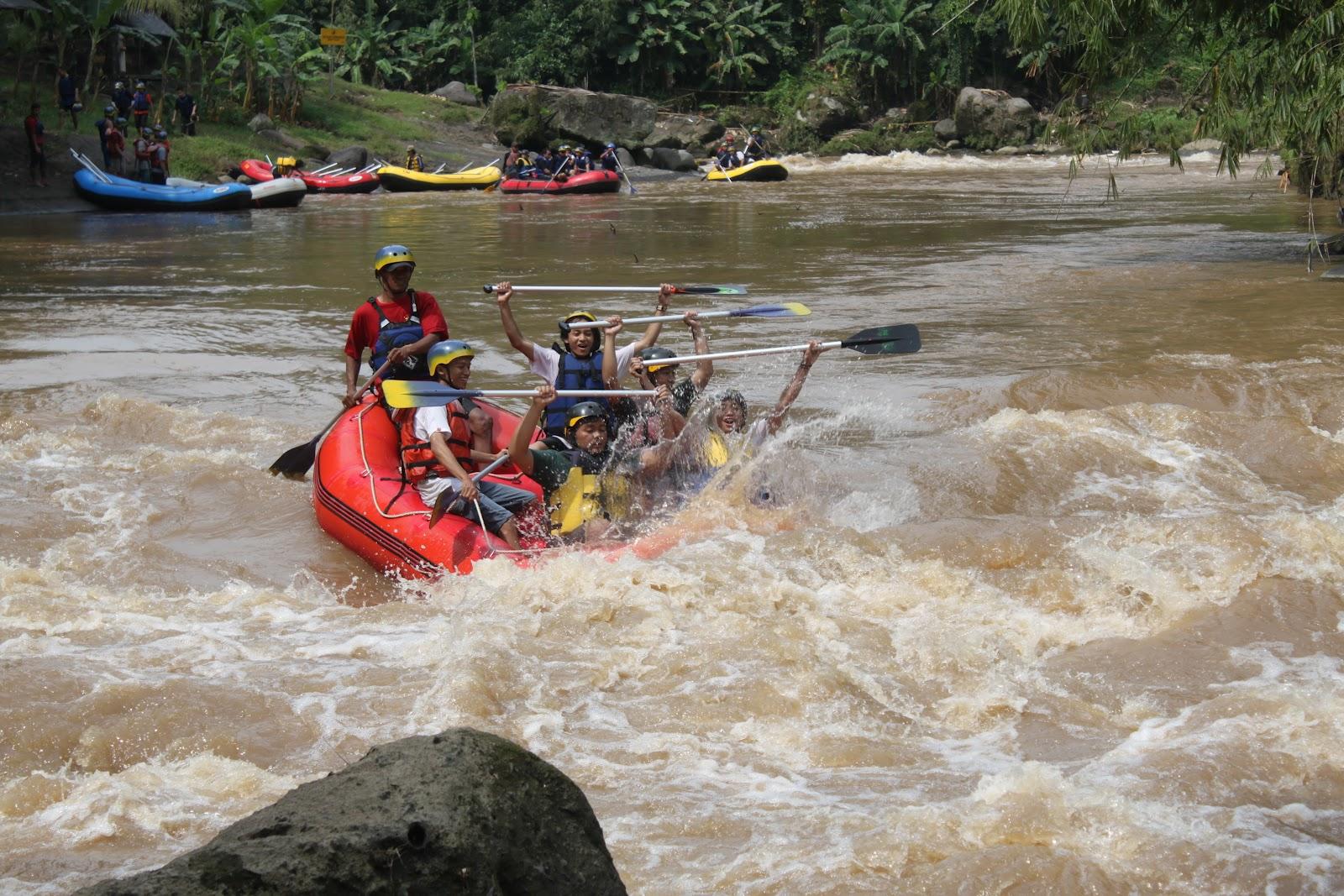 Rafting Sungai Elo Jogjadventuretrip Berada Kabupaten Magelang Jeram Grade 2