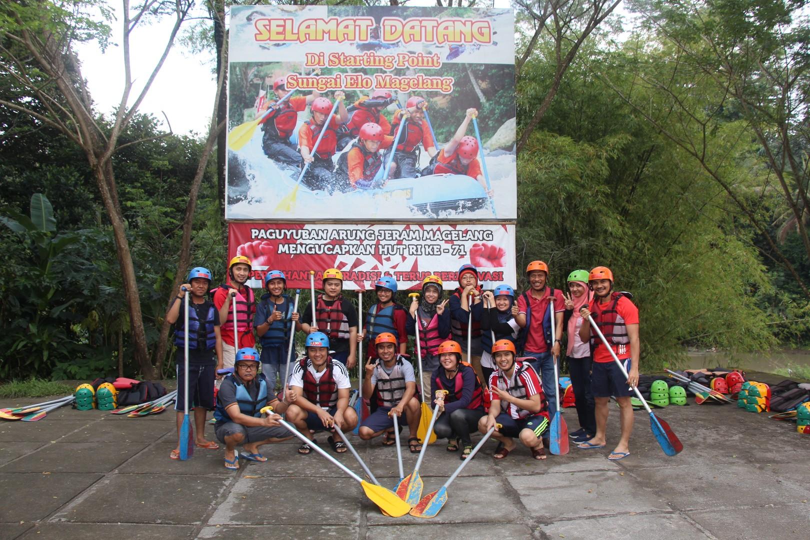 Rafting Sungai Elo Jot Adventure Magelang Ello Kab