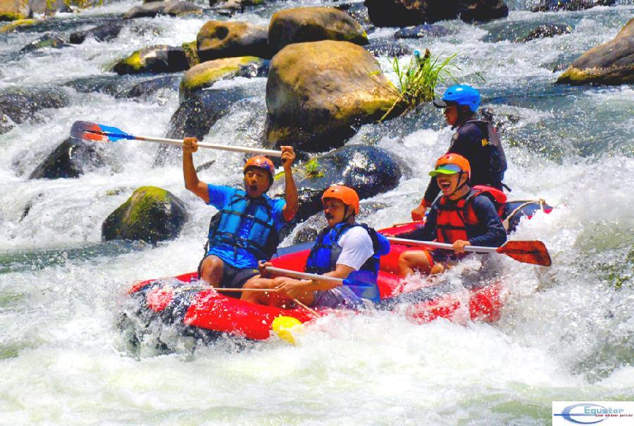 Rafting Sungai Elo Magelang Ello Kab