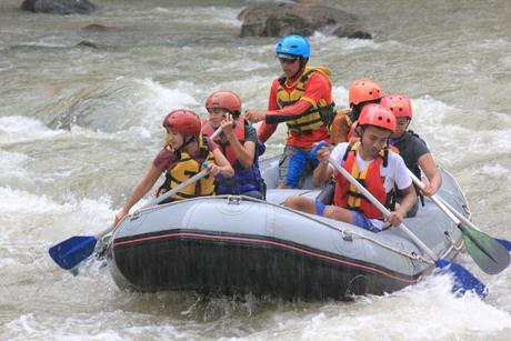 Rafting Sungai Progo Atas Arung Jeram Magelang Jogja Paket Provinsi