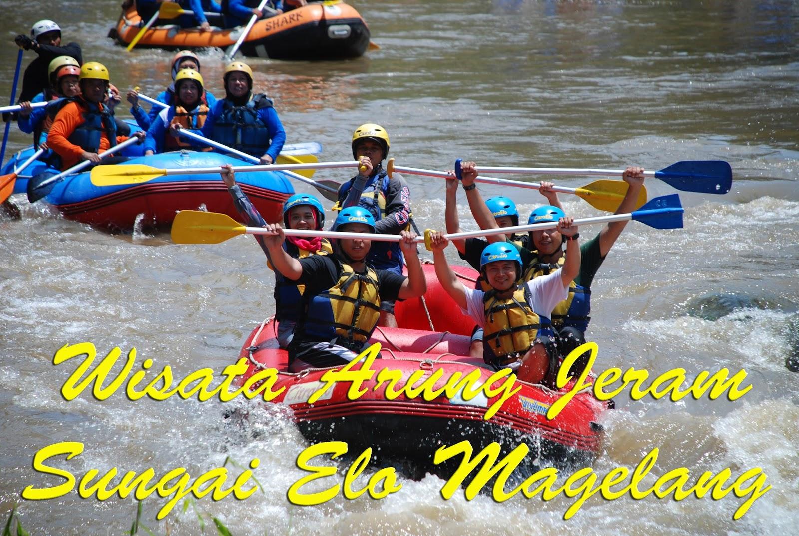 Serunya Wisata Arung Jeram Sungai Elo Magelang Blogpacker Indonesia Memilih