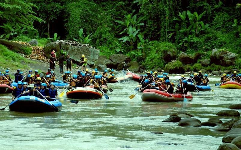 Wisata Arung Jeram Citra Elo Pilihan Tepat Olah Raga Air
