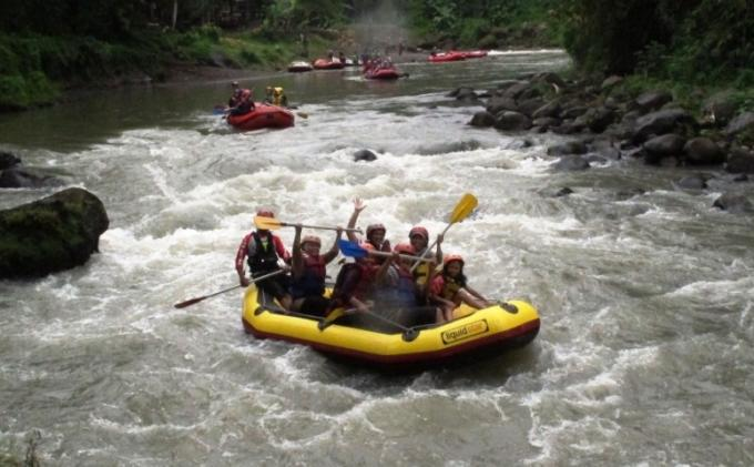 Wisata Arung Jeram Sungai Elo Kian Diminati Tribun Jogja Rafting