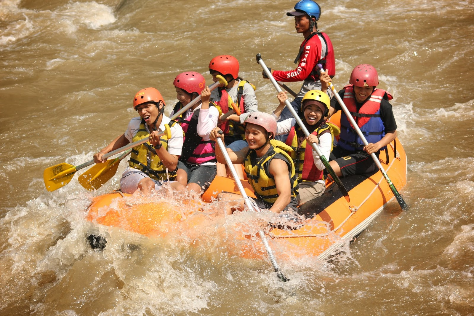 Wisata Rafting Sungai Elo Magelang Vicky Surya Terletak Kabupaten Dekat