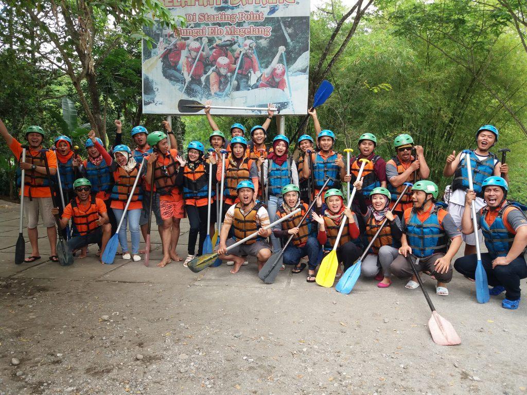 Wjp Rafting Sungai Elo Magelang Bpr Weleri Jayapersada Dibulan November