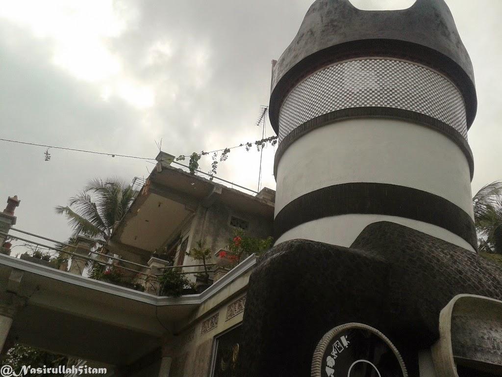Arsitektur Unik Rumah Berbentuk Kamera Majaksingi Magelang Inilah Kab