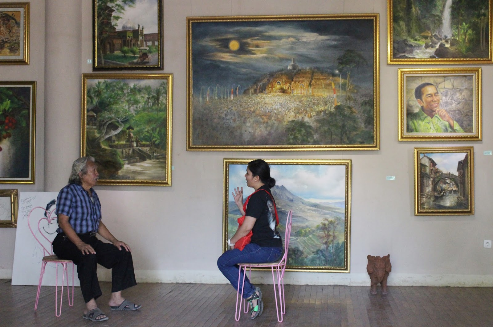 Camera House Borobudur Rumah Kamera Rooftop Kab Magelang
