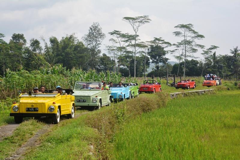 Naik Vw Camat Keliling Desa Wisata Info Borobudur Magelang Mengikuti