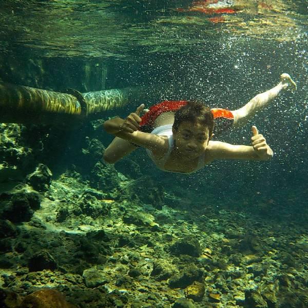 5 Spot Underwater Magelang Airnya Sebening Kaca Ngadem 4 Ndas