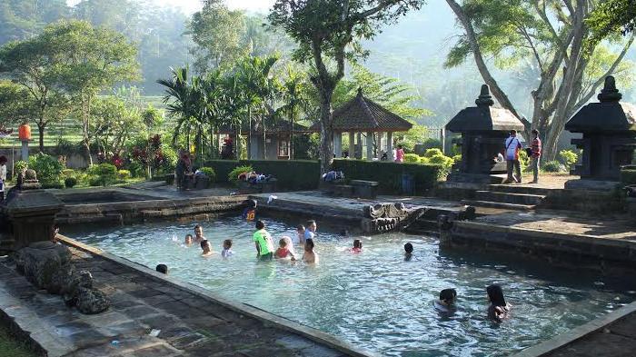 Limakaki Lima Lokasi Wisata Water Spot Magelang Situs Candi Umbul