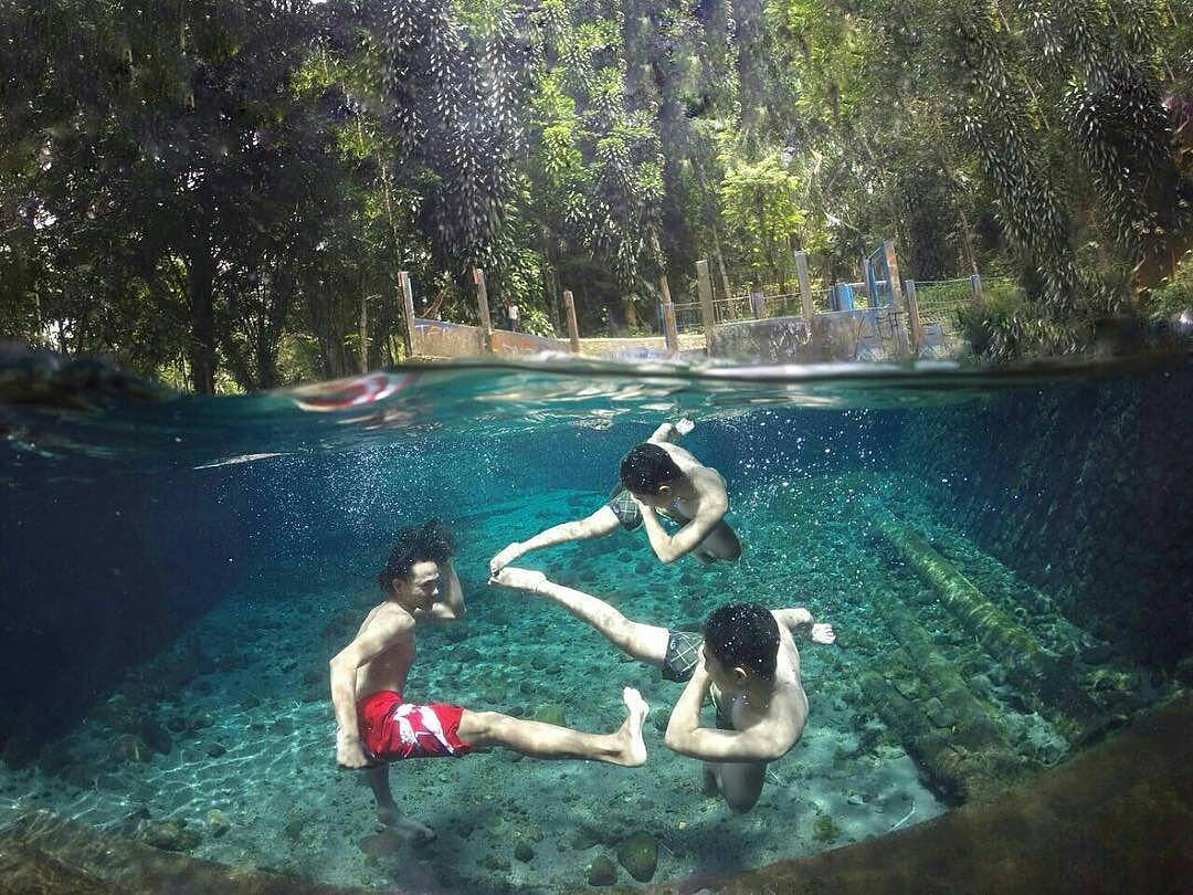 Sendang Maren Salah Satu Spot Underwater Magelang Kab