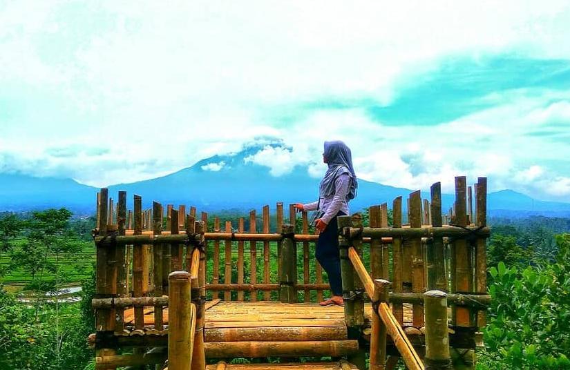 29 Tempat Wisata Magelang Terbaru Hits Dikunjungi Bukit Gunung Gono