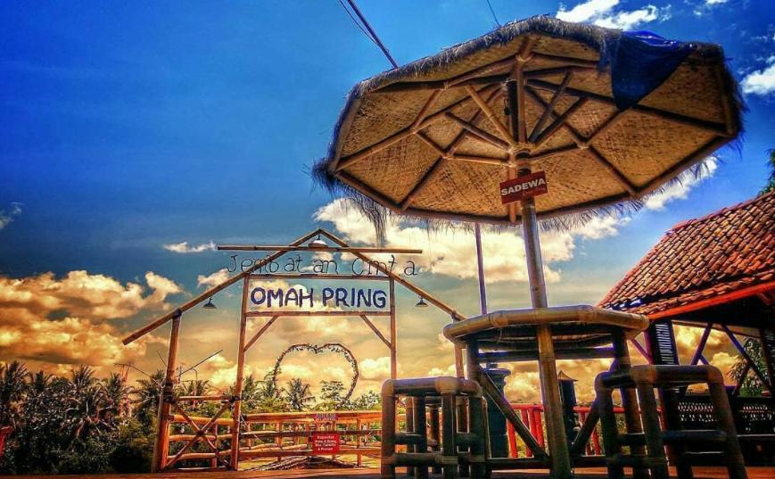 29 Tempat Wisata Magelang Terbaru Hits Dikunjungi Omah Pring Taman