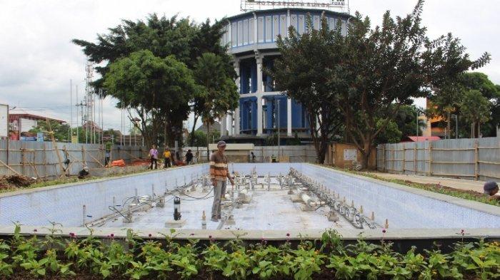 Air Mancur Menari Siap Hibur Masyarakat Kota Magelang Taman Badakan
