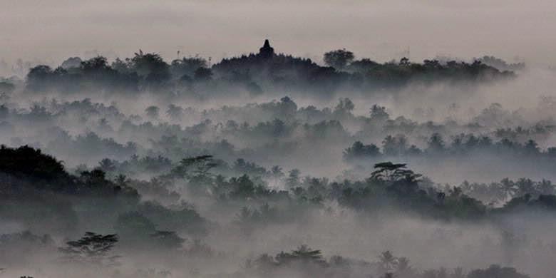 Taman Badakan Kota Magelang Beranda Jogja Istimewa Punthuk Setumbu Borobudur