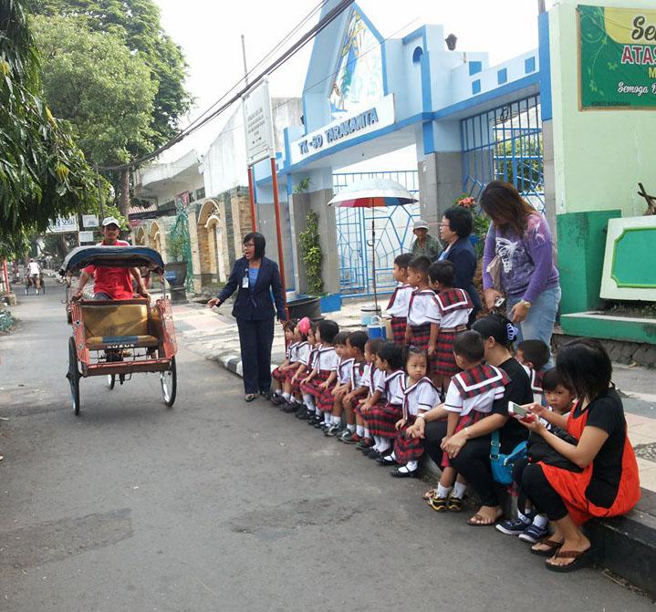 Tk Tarakanita Magelang Mengenal Alat Transportasi 5845d916 Album Lainnya Taman