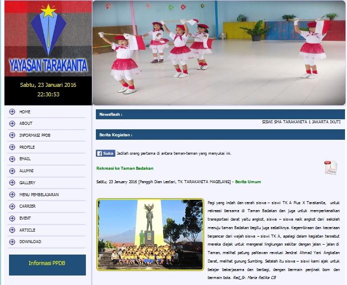 Tk Tarakanita Magelang Rekreasi Taman Badakan 91054ac7 Album Lainnya Kab