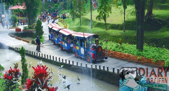 4 Fasilitas Wisata Menarik Taman Kyai Langgeng Magelang Kereta Mini