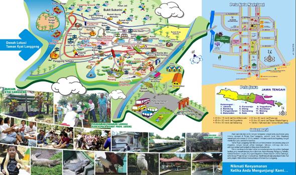 4 Fasilitas Wisata Menarik Taman Kyai Langgeng Magelang Nikmati Jutaan