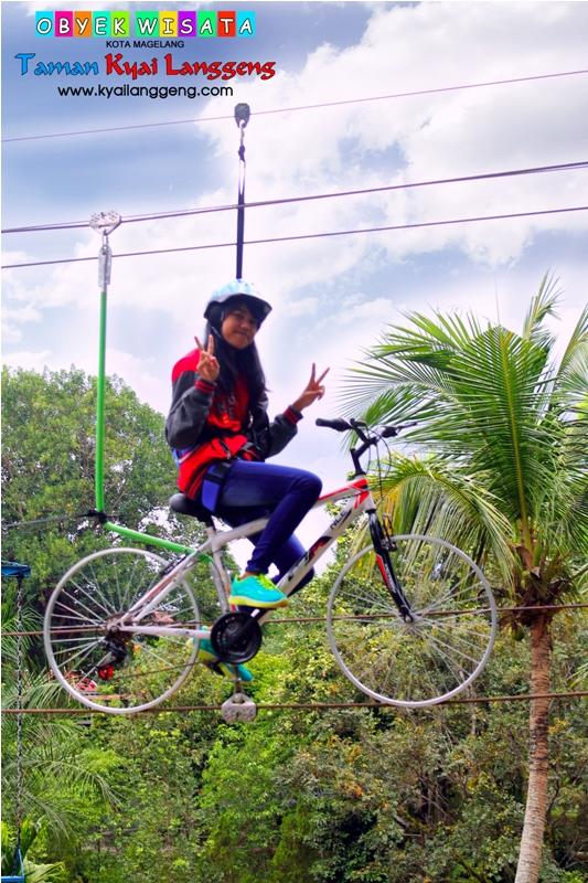 Galeri Taman Wisata Kyai Langgeng Sepeda Layang Obyek Kiai Kab