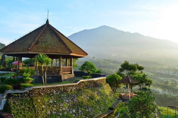 Kota Magelang Keindahannya Vinnyaulia Ketep Pass Taman Kiai Langgeng Kab