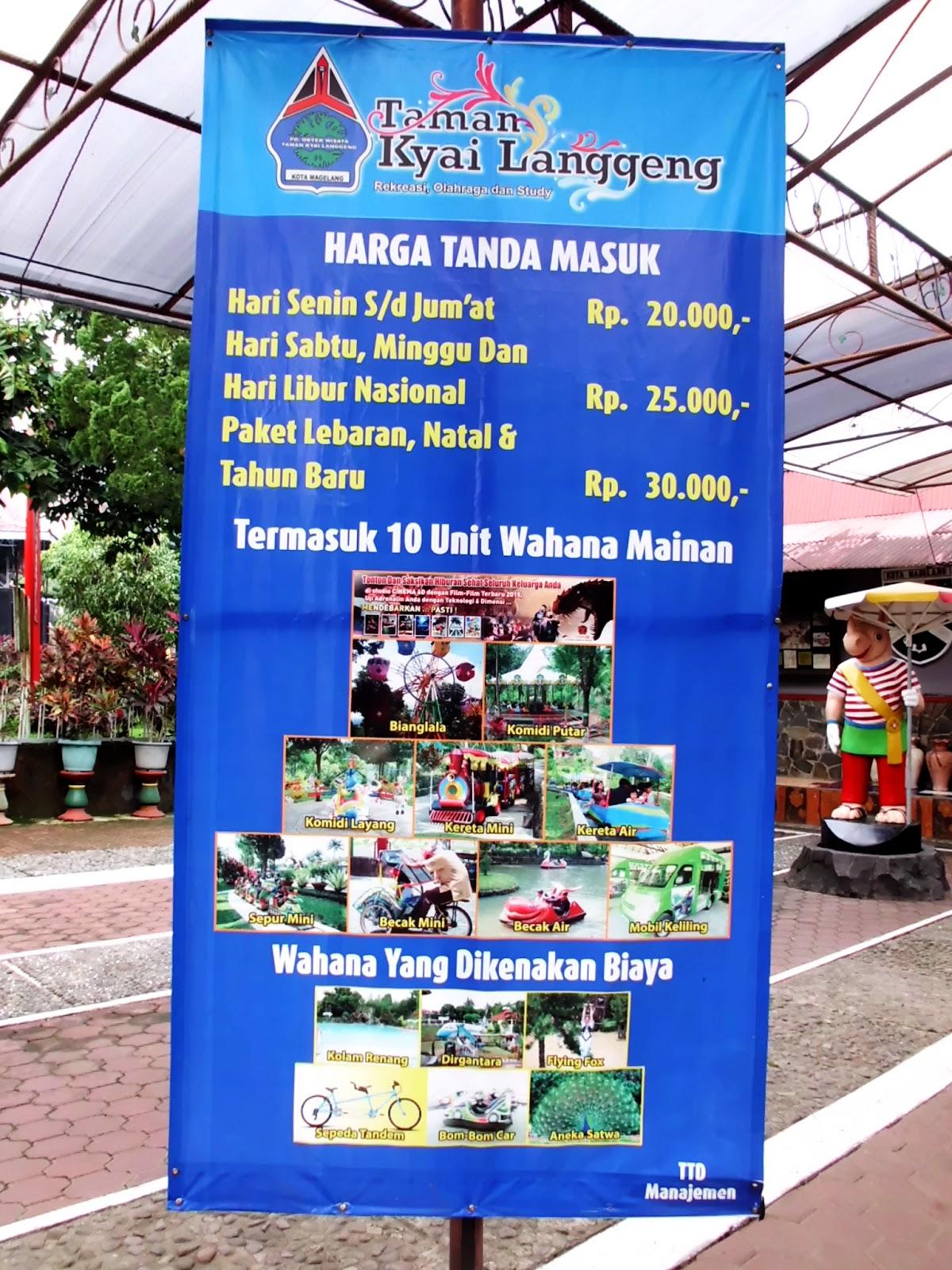 Loket Taman Kyai Langgeng Media Pomosi Tempat Wisata Kuliner Kiai