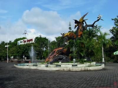 Obyek Wisata Jawa Tengah Magelang Wonosobo Ambarawa Taman Kyailanggeng Kiai